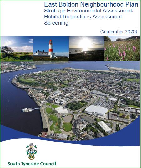 Cover from SEA HRA assessment