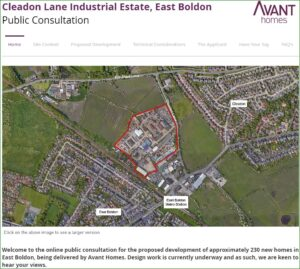 Cleadon Lane Industrial Estate – Forum's Response to Public Consultation by Lichfields on Behalf of Avant Homes